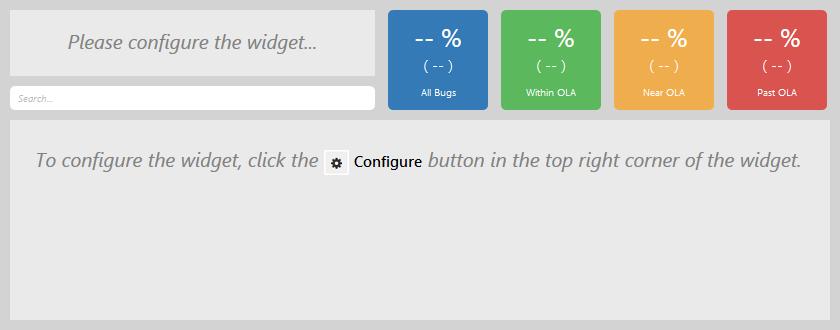 Unconfigured Widget